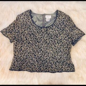 Adrianna Papell Tops - Beaded Formal Top - Adrianna Papel - Size 22